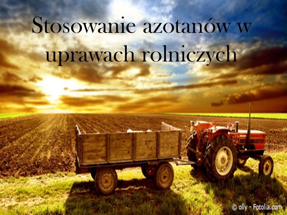 Stosowanie azotanów w uprawach rolniczych