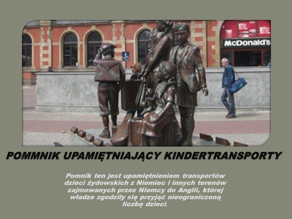 POMMNIK UPAMIĘTNIAJĄCY KINDERTRANSPORTY