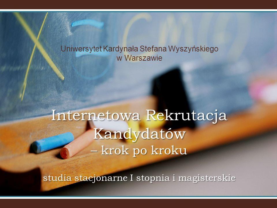Uniwersytet Kardynała Stefana Wyszyńskiego w Warszawie