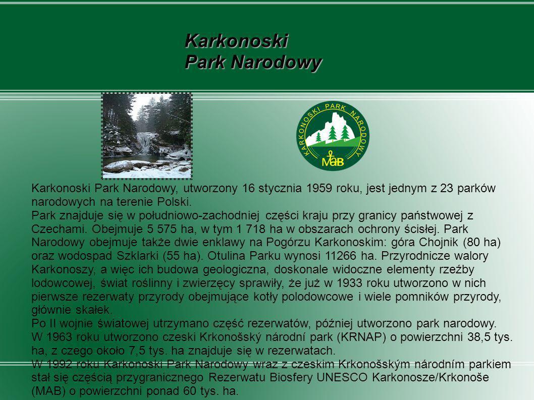 Karkonoski Park Narodowy