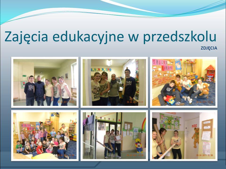 Zajęcia edukacyjne w przedszkolu
