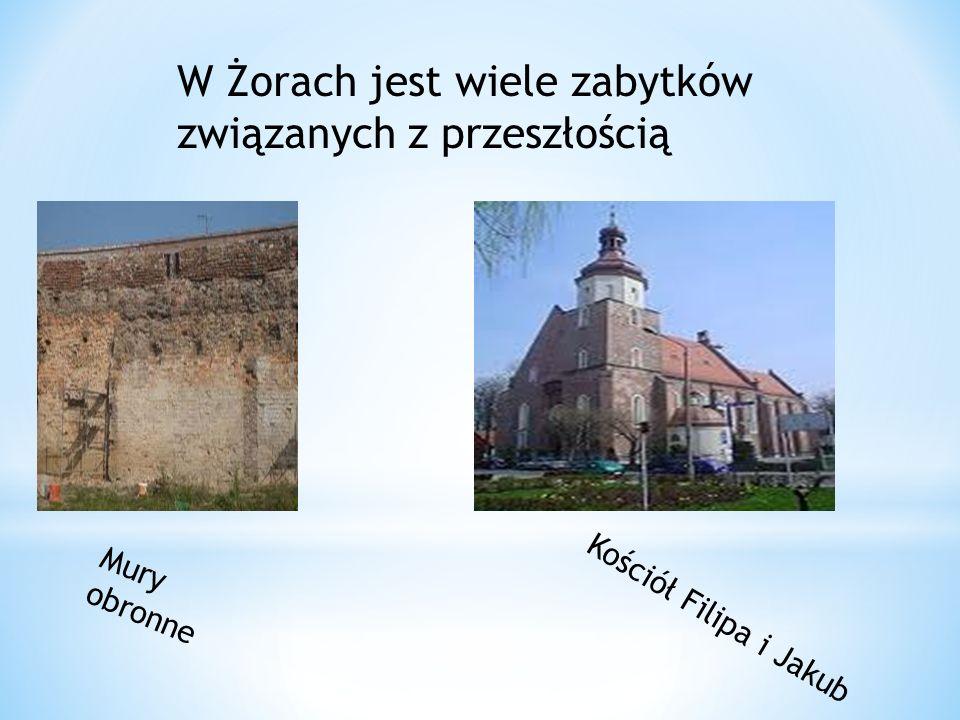 W Żorach jest wiele zabytków związanych z przeszłością
