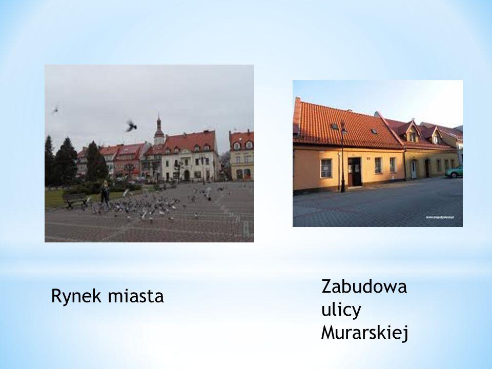 Zabudowa ulicy Murarskiej Rynek miasta