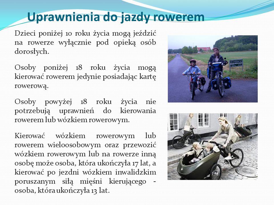 Uprawnienia do jazdy rowerem