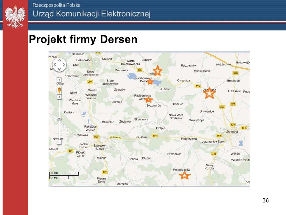 Projekt firmy Dersen
