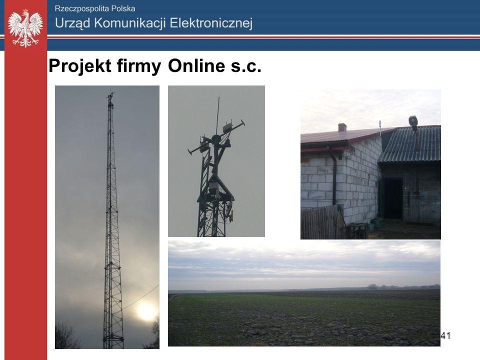 Projekt firmy Online s.c.