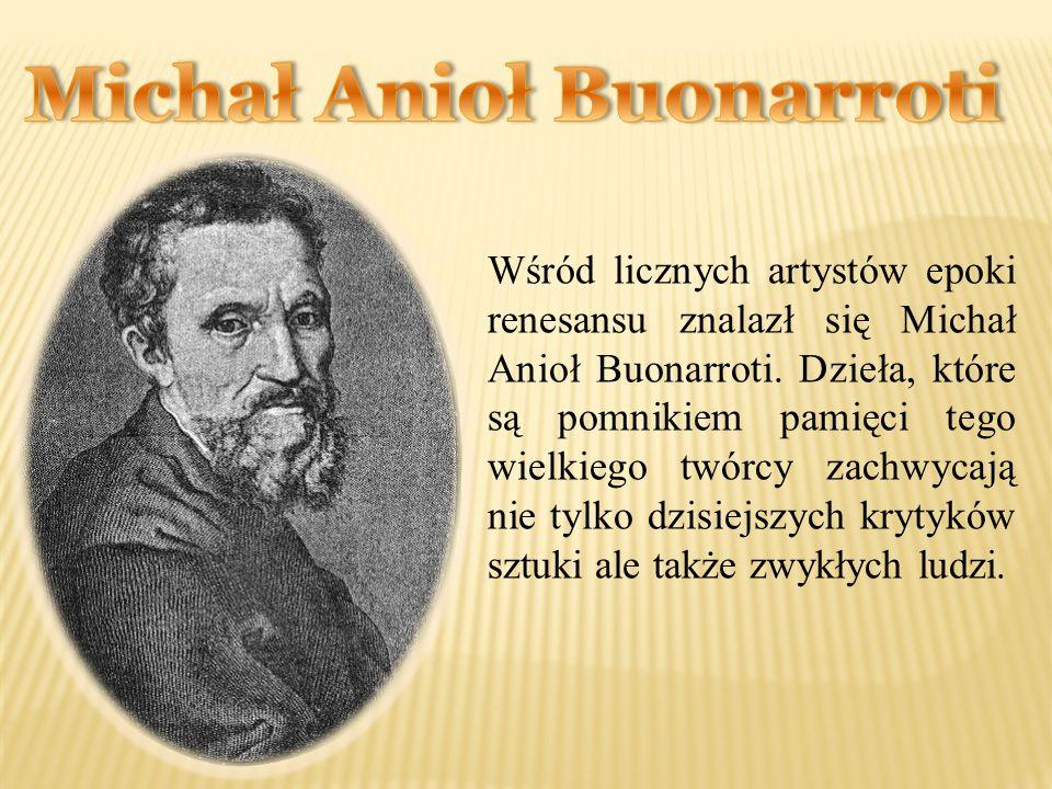 Michał Anioł Buonarroti