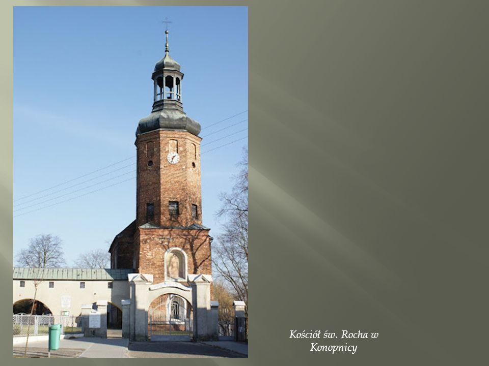 Kościół św. Rocha w Konopnicy