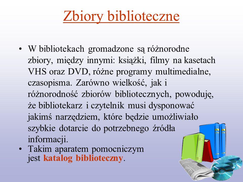 Zbiory biblioteczne