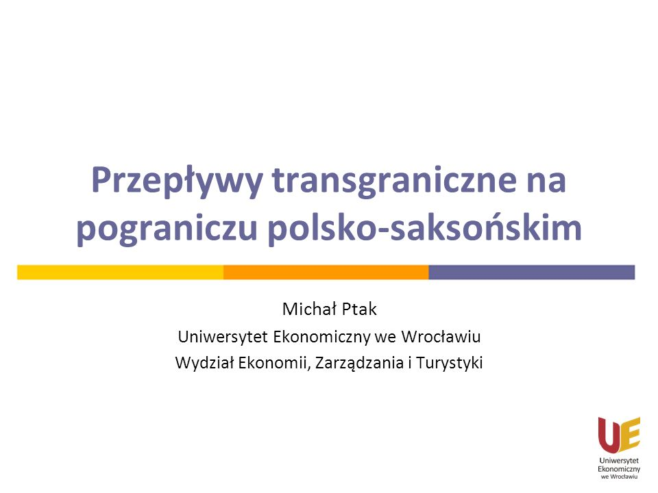 Przepływy transgraniczne na pograniczu polsko-saksońskim