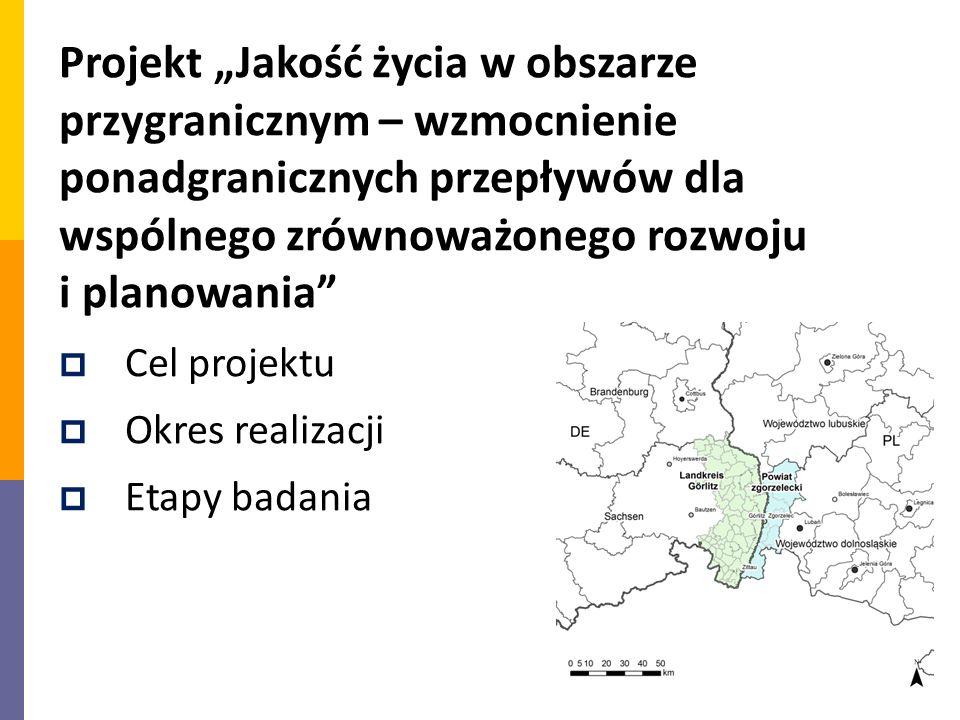"""Projekt """"Jakość życia w obszarze przygranicznym – wzmocnienie ponadgranicznych przepływów dla wspólnego zrównoważonego rozwoju i planowania"""