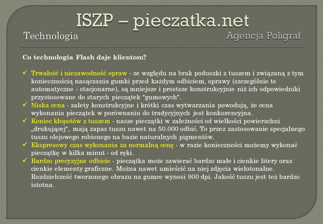ISZP – pieczatka.net Technologia Agencja Poligraf