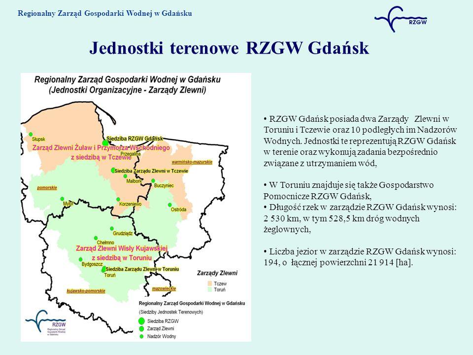 Jednostki terenowe RZGW Gdańsk