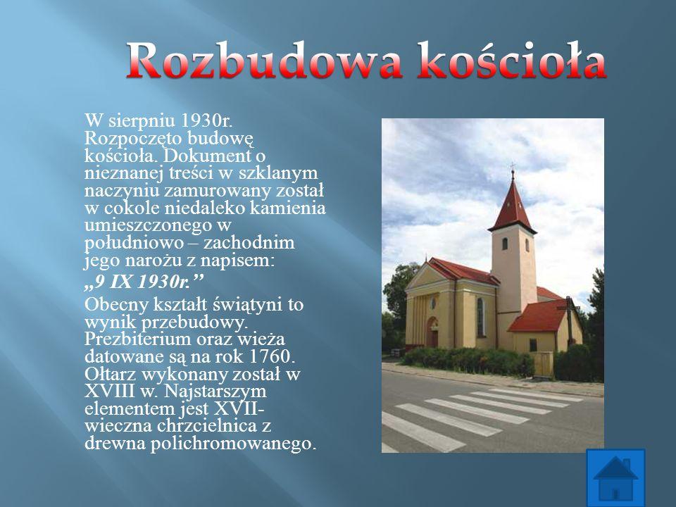 Rozbudowa kościoła