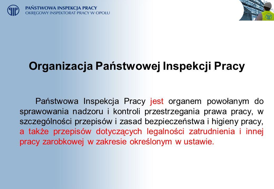 Organizacja Państwowej Inspekcji Pracy