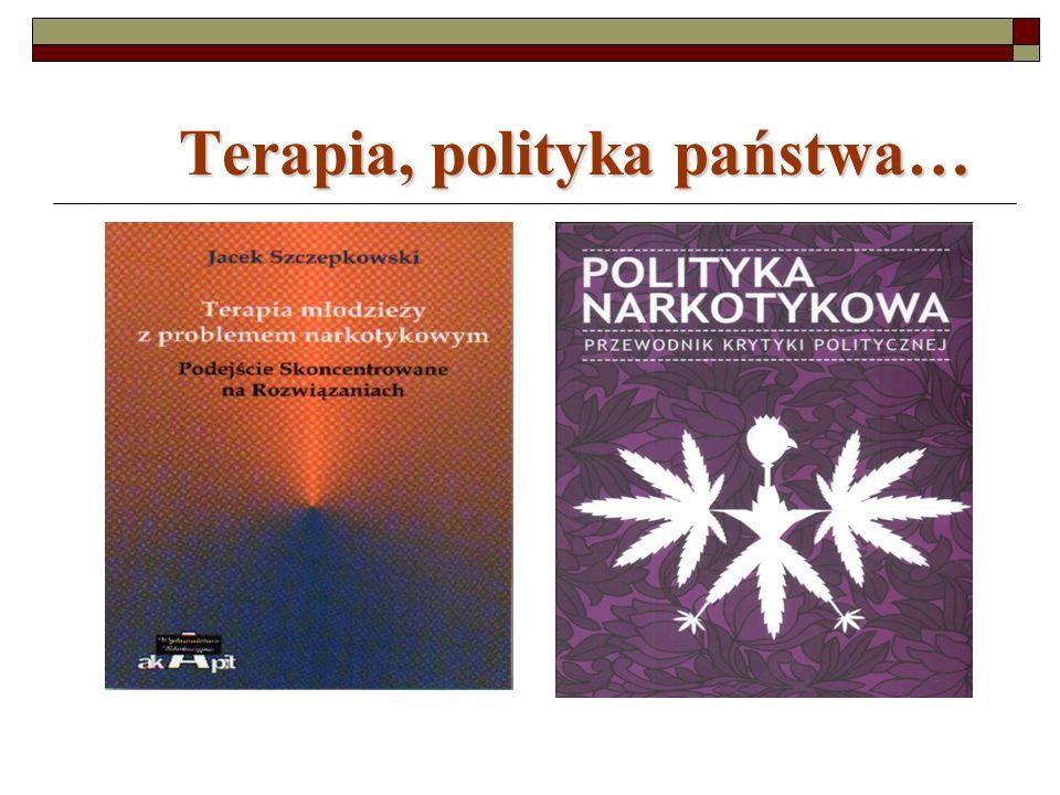 Terapia, polityka państwa…