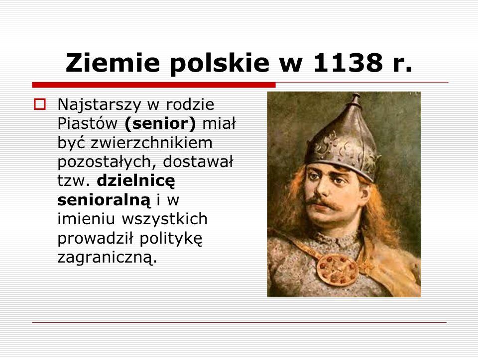 Ziemie polskie w 1138 r.