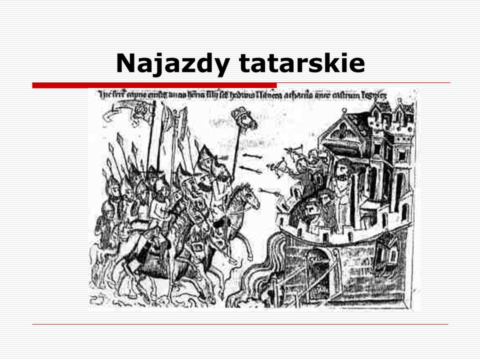 Najazdy tatarskie
