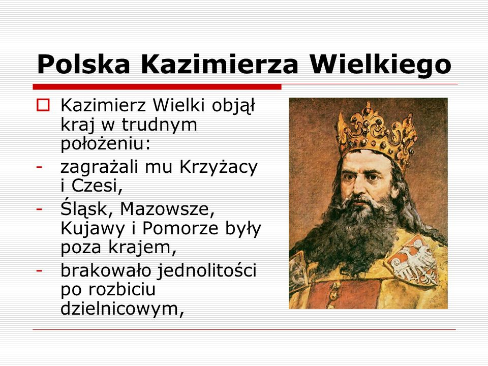Polska Kazimierza Wielkiego
