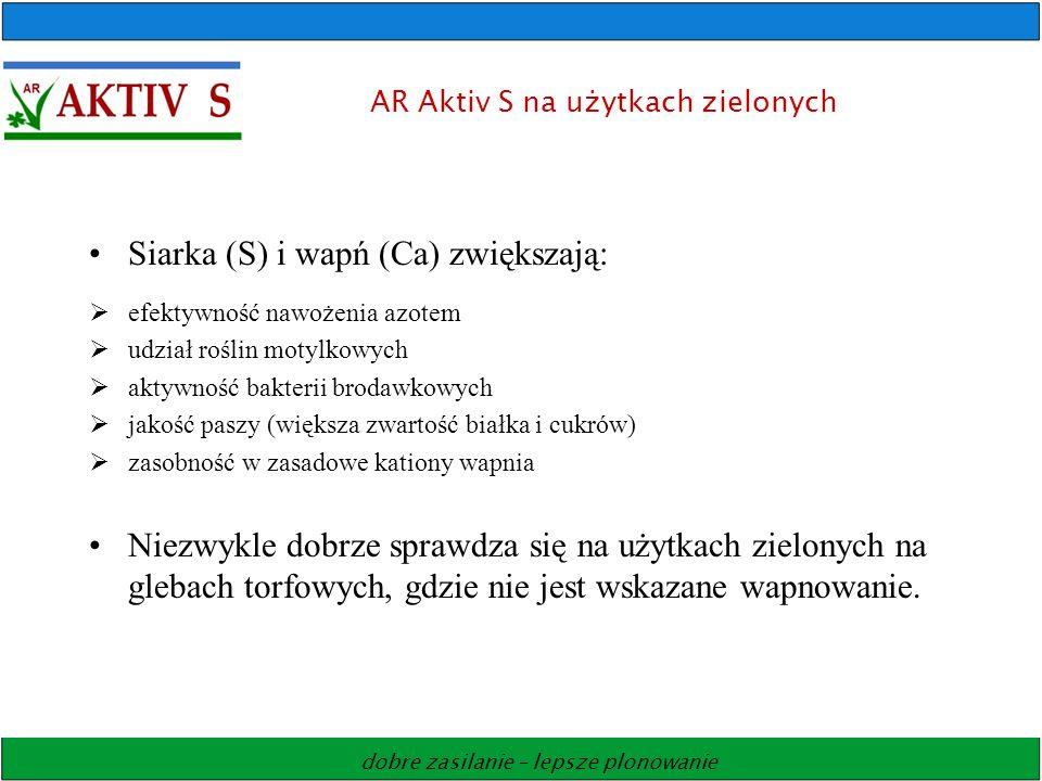 AR Aktiv S na użytkach zielonych
