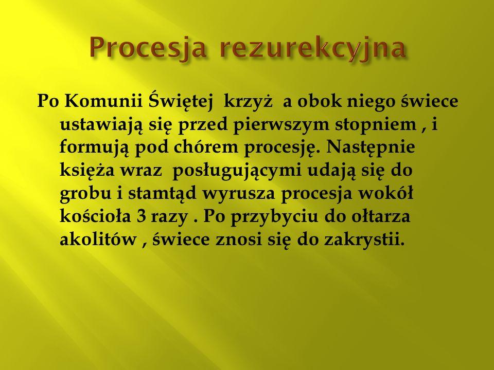 Procesja rezurekcyjna