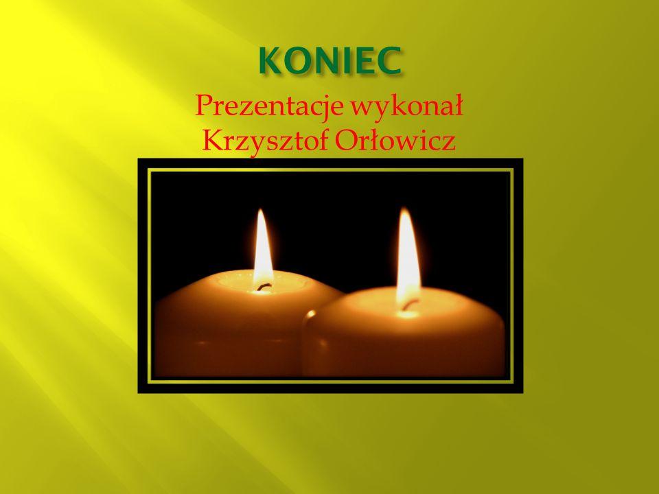 Prezentacje wykonał Krzysztof Orłowicz