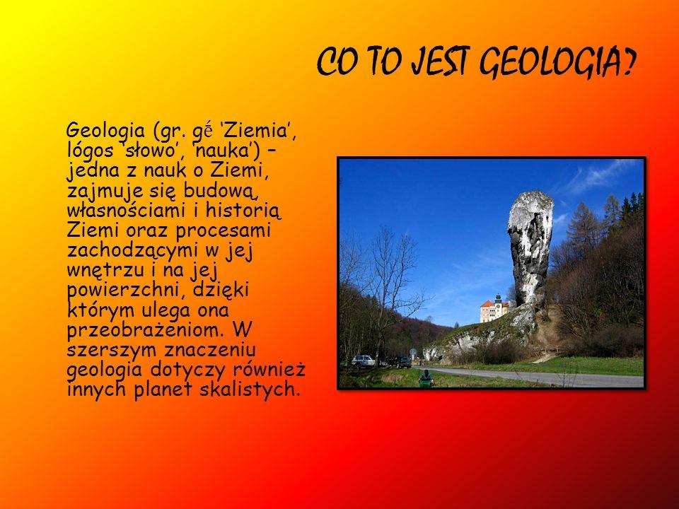 CO TO JEST GEOLOGIA