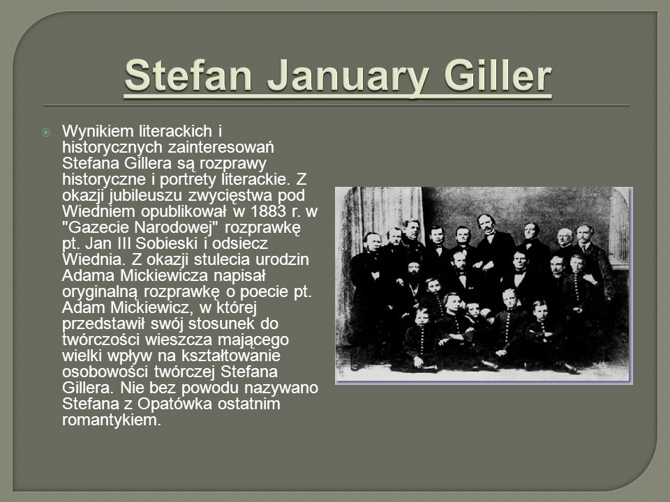 Stefan January Giller