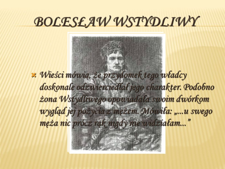 Bolesław Wstydliwy