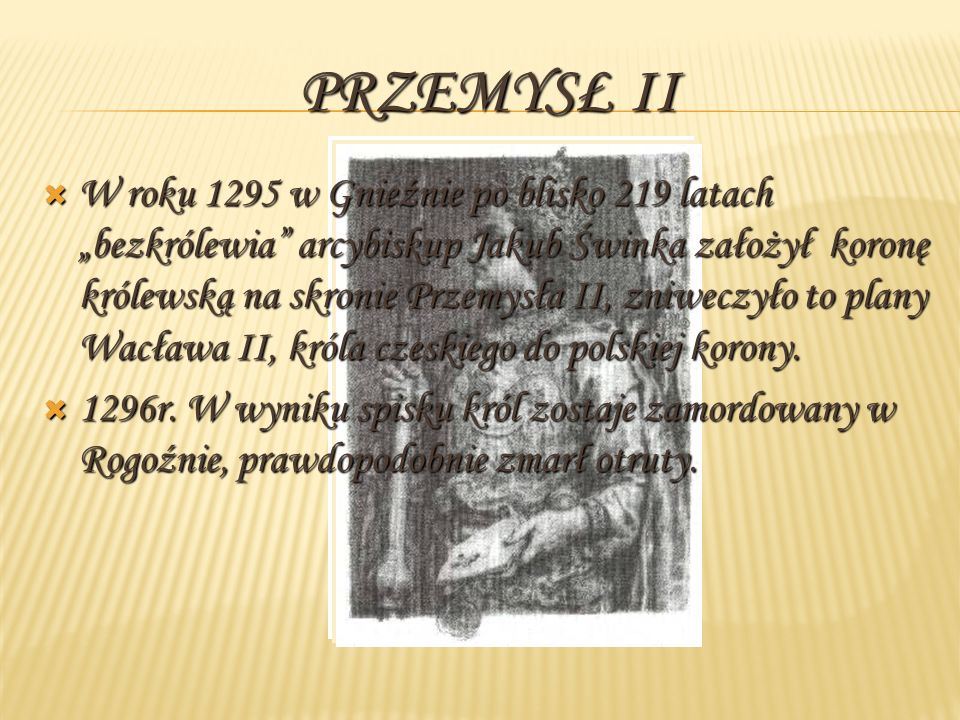 Przemysł II