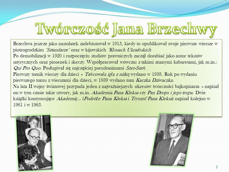 Twórczość Jana Brzechwy