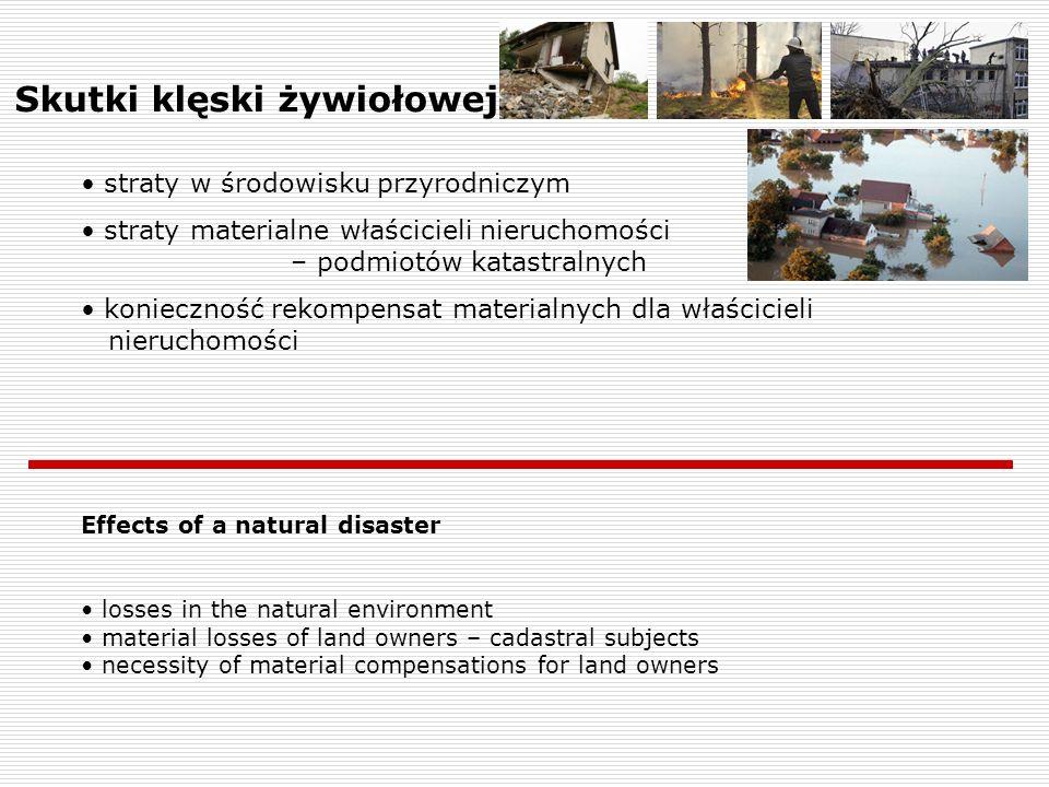 Skutki klęski żywiołowej