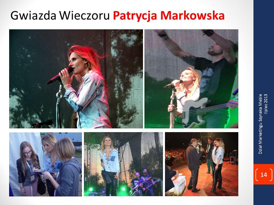 Gwiazda Wieczoru Patrycja Markowska