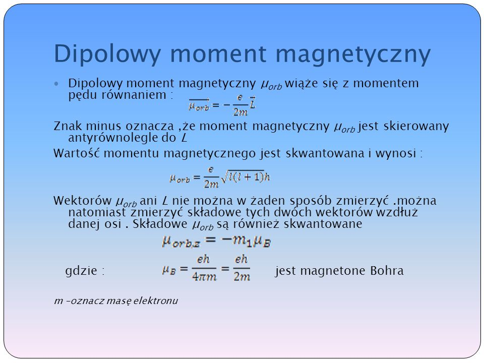 Dipolowy moment magnetyczny