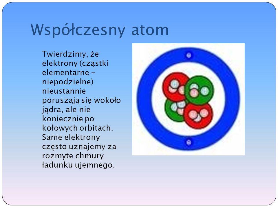 Współczesny atom