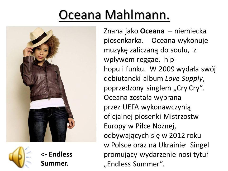 Oceana Mahlmann.