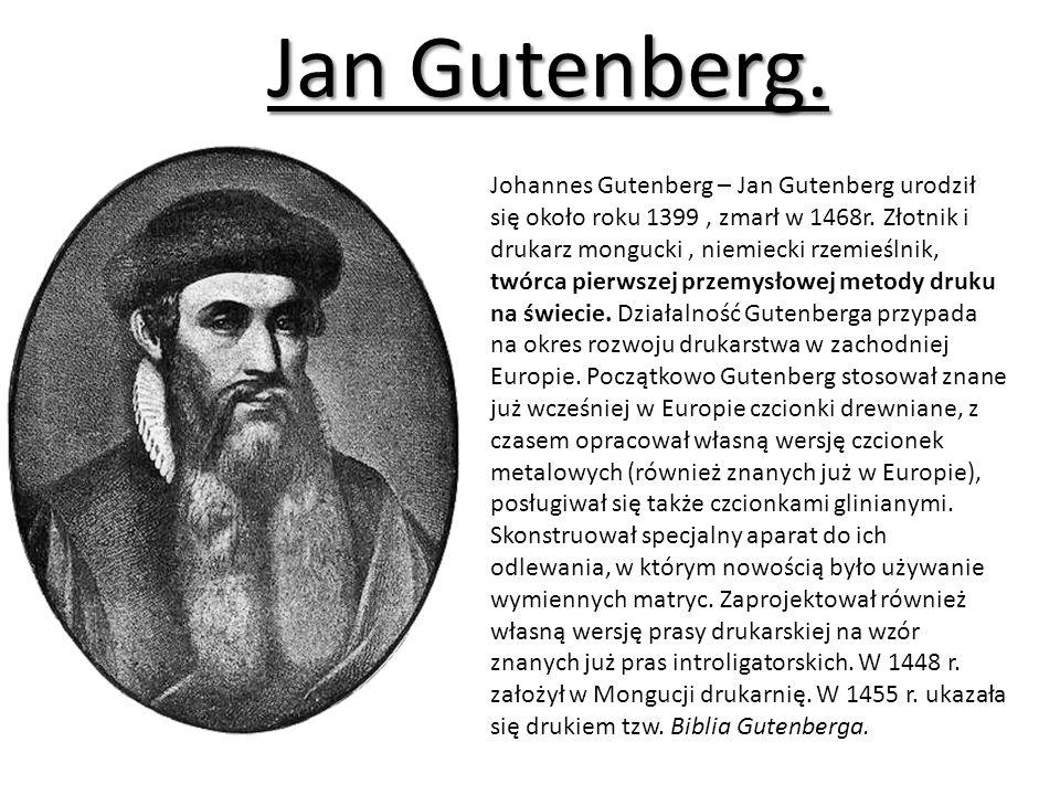 Jan Gutenberg.