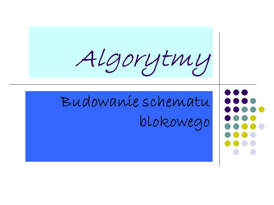 Budowanie schematu blokowego