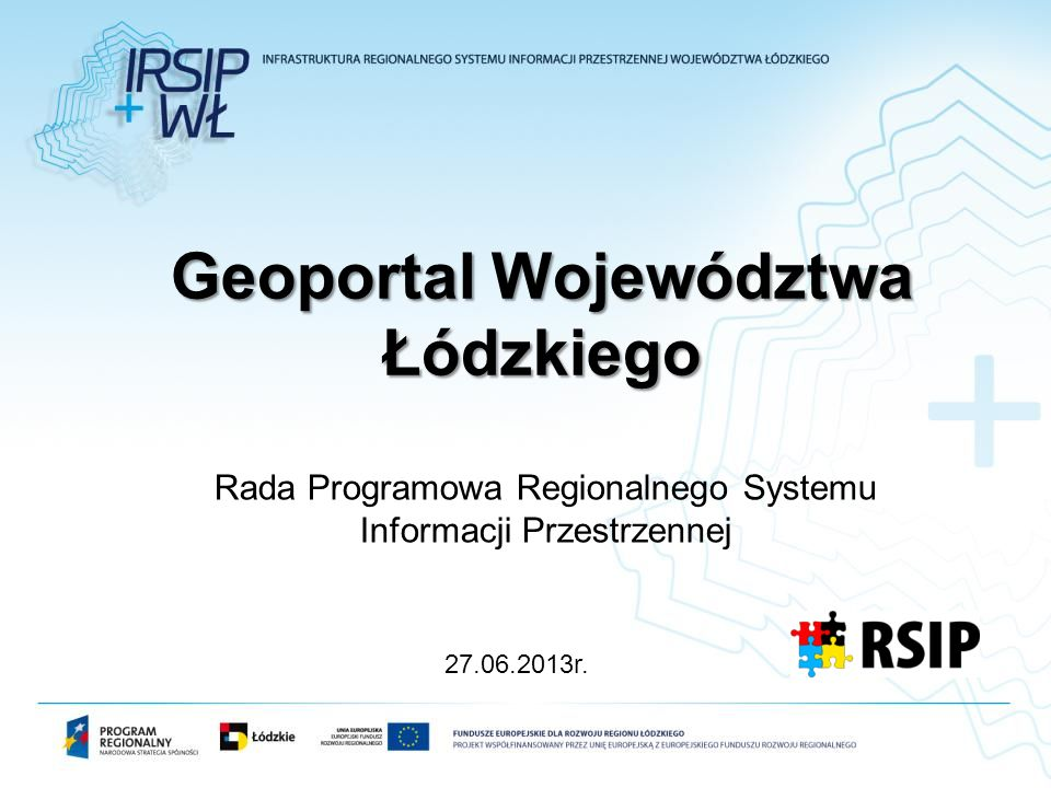 Geoportal Województwa Łódzkiego