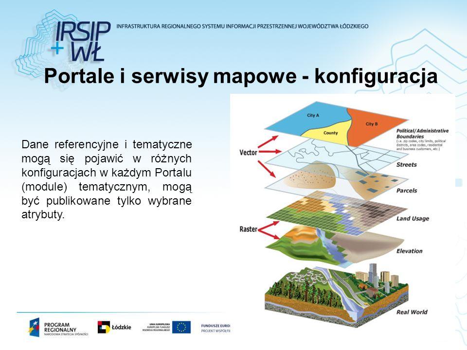 Portale i serwisy mapowe - konfiguracja