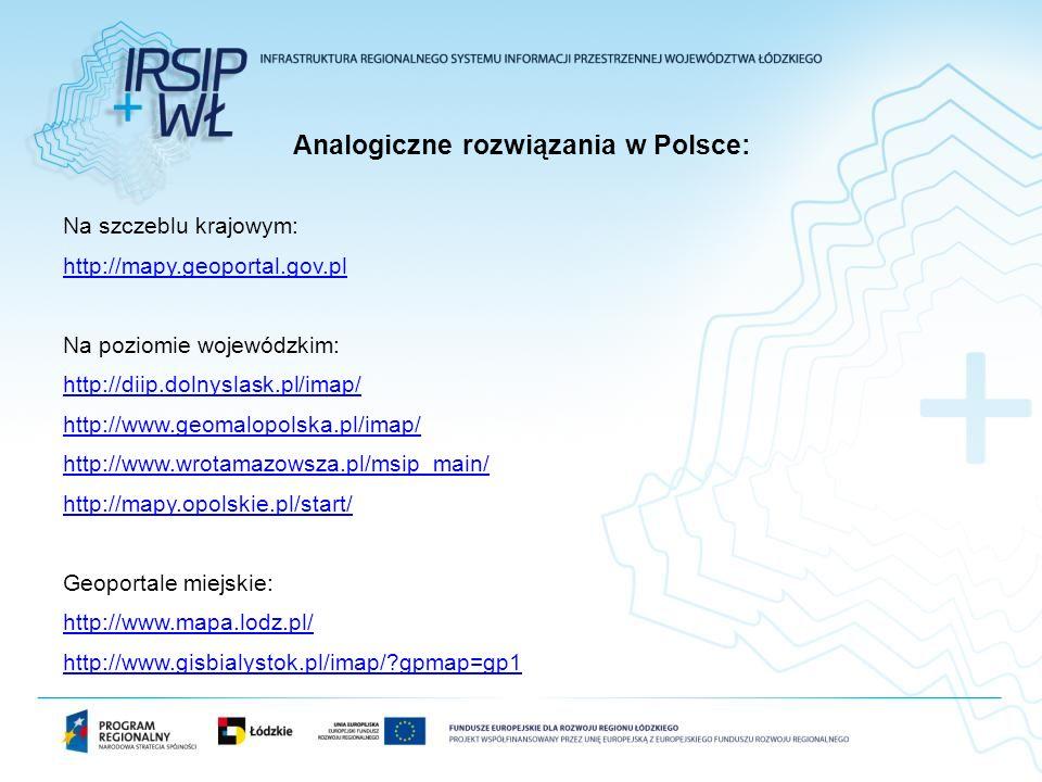 Analogiczne rozwiązania w Polsce: