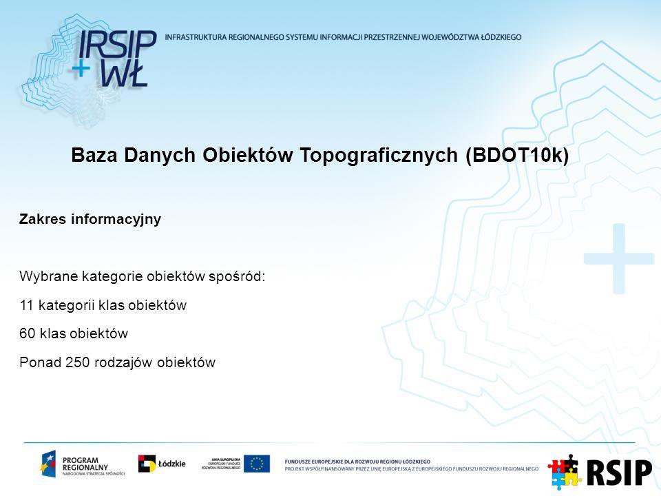 Baza Danych Obiektów Topograficznych (BDOT10k)