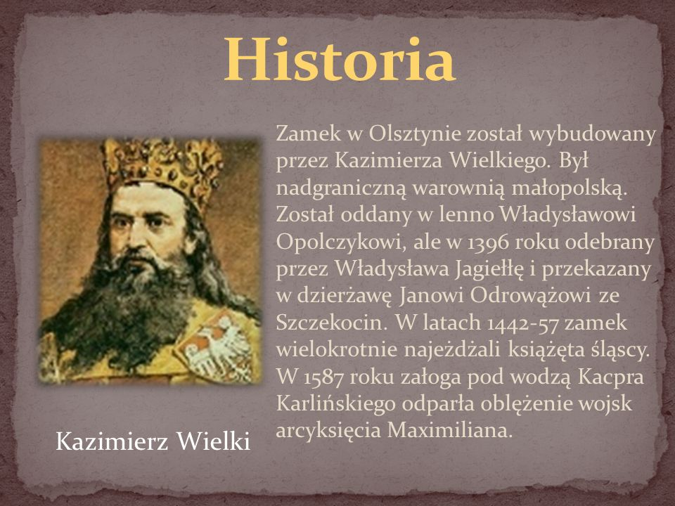 Historia Kazimierz Wielki