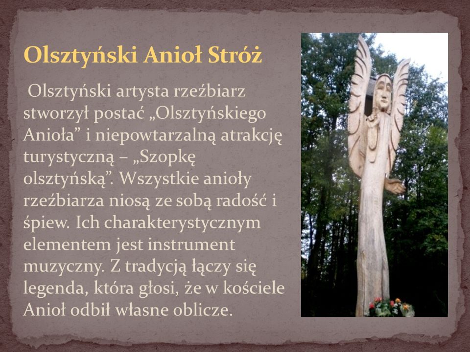 Olsztyński Anioł Stróż