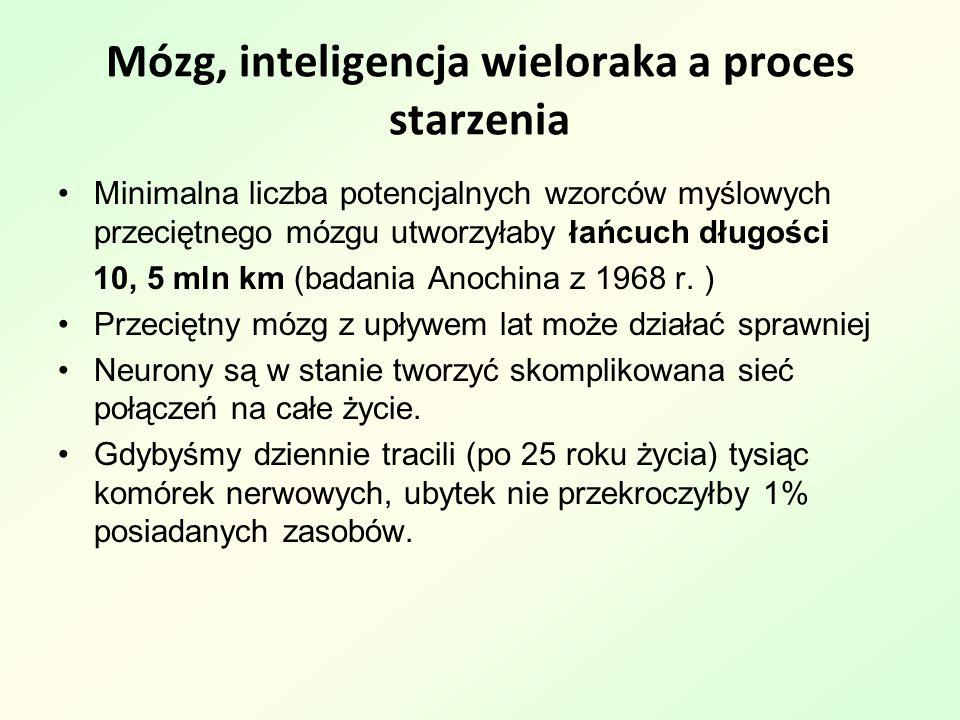 Mózg, inteligencja wieloraka a proces starzenia