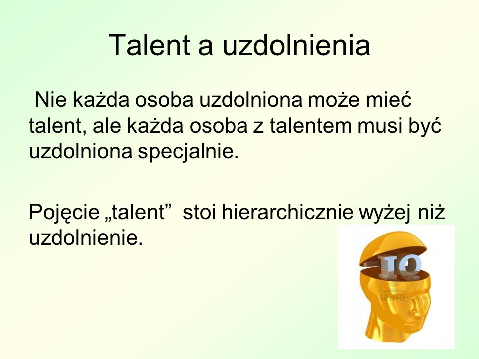 Talent a uzdolnienia