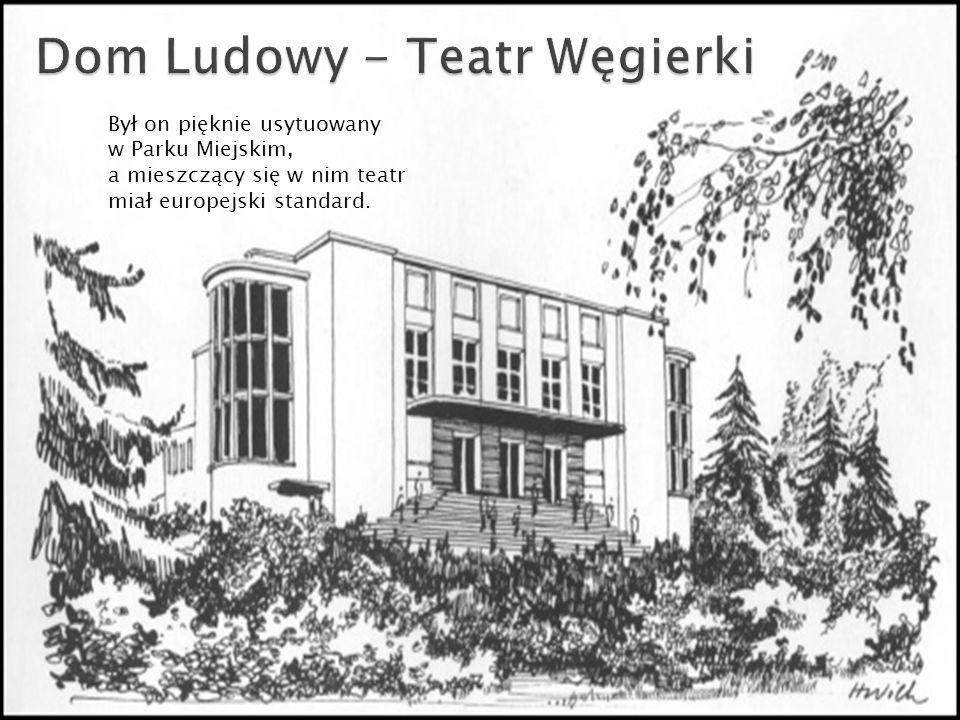 Dom Ludowy - Teatr Węgierki