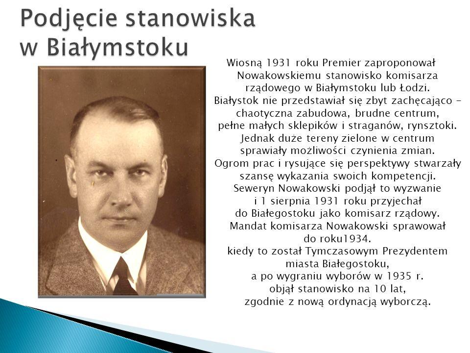 Podjęcie stanowiska w Białymstoku