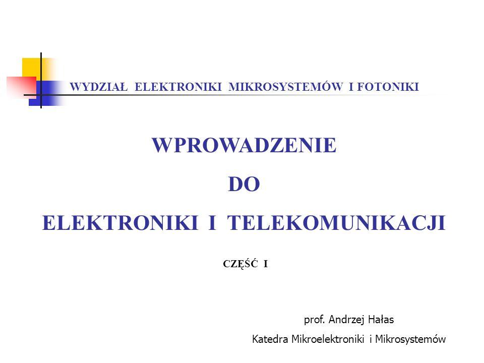 ELEKTRONIKI I TELEKOMUNIKACJI
