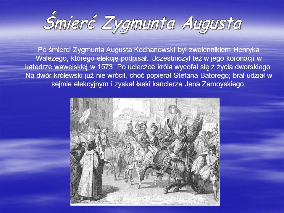 Śmierć Zygmunta Augusta